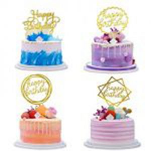 CAKE AND CUPCAKE TOPPERS